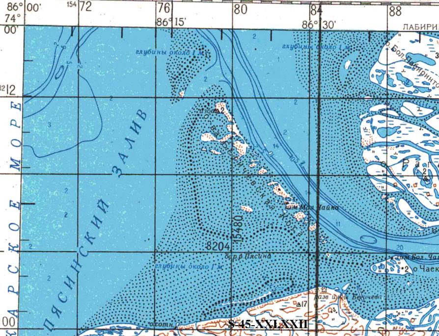 Диксон - остров, пок и порт, фото